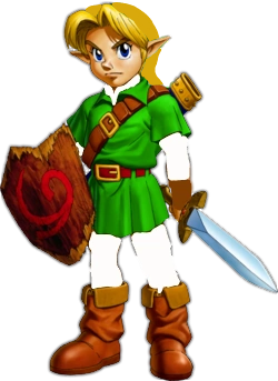 Young Link Without Hat