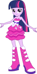 Twilight Sparkle Party Dress Vector 411192044