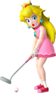 Normal Miss P Artwork - Mario Golf World Tour
