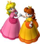 Miss P and Miss D - Mario Party 7