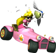 Miss P Blue Spiny Shell Artwork - Mario Kart DS
