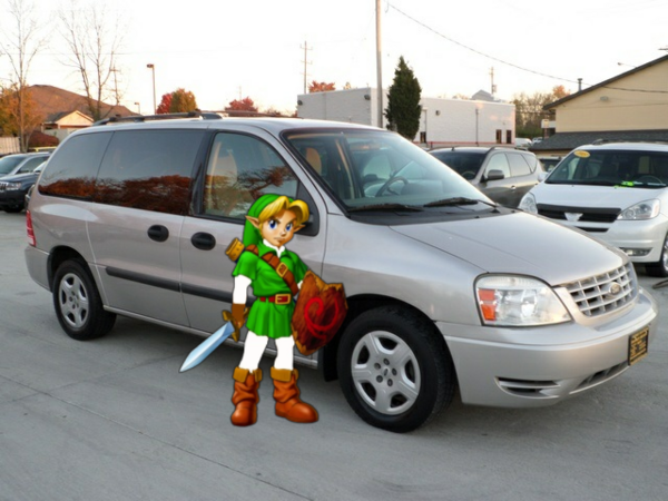 Young Link And His 2004 Ford Freestar Van