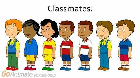 GoAnimate Characters Caillou Gets Grounded