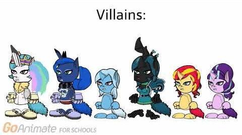 My GoAnimate Character Creations - My Little Pony
