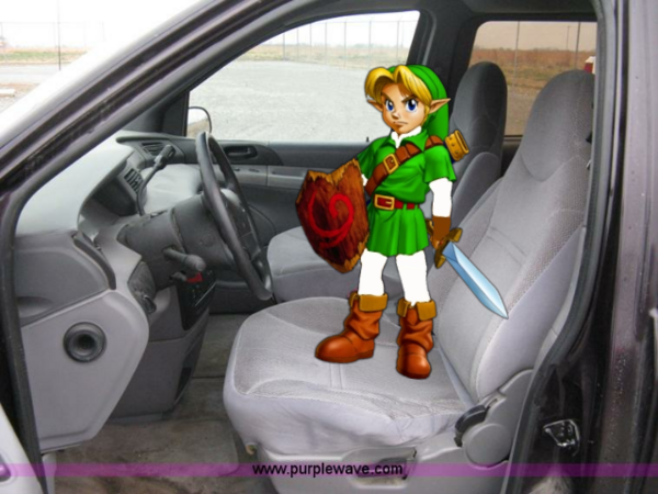 Young Link Drives A 1997 Ford Windstar Van