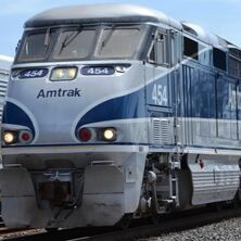 Amtrak F59phi 454 Came Back