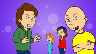 Caillou Writes Mean Cards to Doris & Rosie Grounded on Valentine's Day Valentine's Day 1st Special