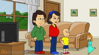 Caillou's Halloween And Rosie Gets Grounded