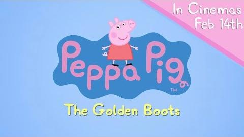 Peppa Pig Episodes - The Golden Boots trailer - Cartoons for Children