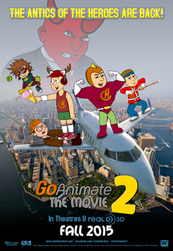 Go!Animate The Movie 2 - Official Poster (2015)