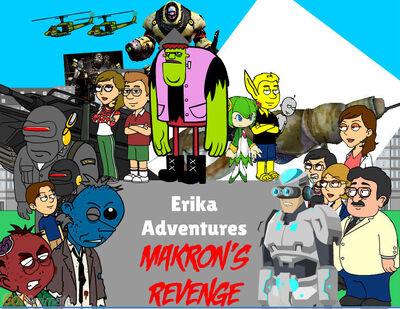 Erika Adventures Makron's Revenge poster