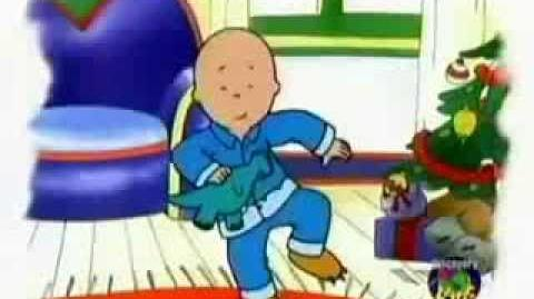 "Caillou's Holiday Movie Part ""5 (of 5)"" English"