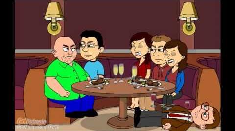 Adrianna's Dad Misbehaves In A Restaurant