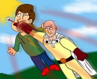 Boris vs one punch man by mrtheamazingdude dbkn9da-250t