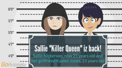 "The trailer of ""The Vengeance of Sallie"" (Killer Queen is back)"
