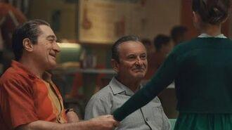 The Irishman bowling scene 🎳