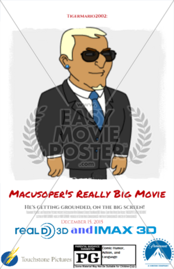 Macusoper's Really Big Movie Theatrical Poster