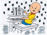 Caillou's piano