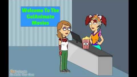 Autumn Sells Popcorn at The Movies