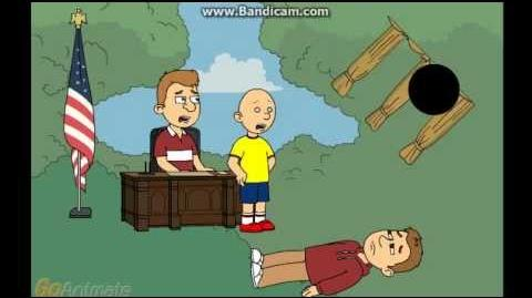Aaron & Caillou Becomes President Co-President