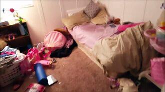Kid Temper Tantrum Pees On Sisters Bed Original