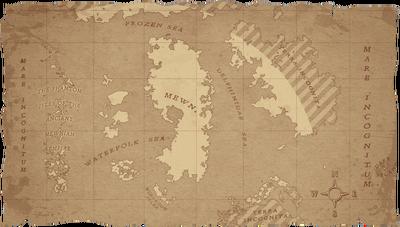Polaria's Mewni Map