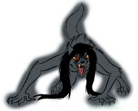 Werewolf Marceline fullbody