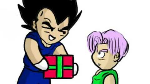 Trunks' Birthday Present