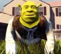 Shrek Goat