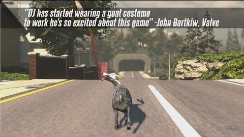 Goat Simulator coming to Steam! - Pre-Order Trailer