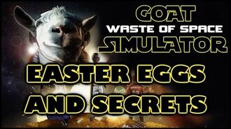Goat Simulator Waste of Space Easter Eggs And Secrets HD