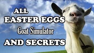 Goat Simulator All Easter Eggs And Secrets Part 1 HD