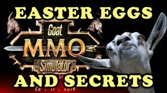 Goat MMO Simulator All Easter Eggs And Secrets HD