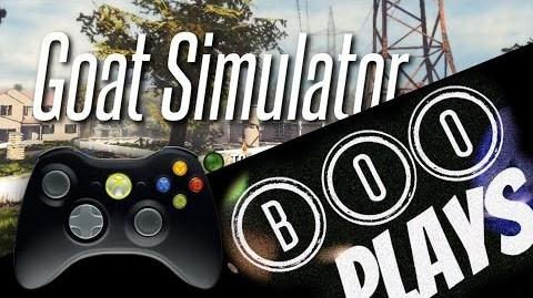 "B00Plays ""Goat Simulator"" (ft. Br8vLilPiglt)"