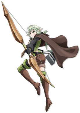 High Elf Archer Goblin Slayer Wiki Fandom Powered By Wikia