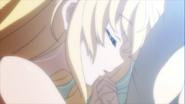 Priestess sleeping