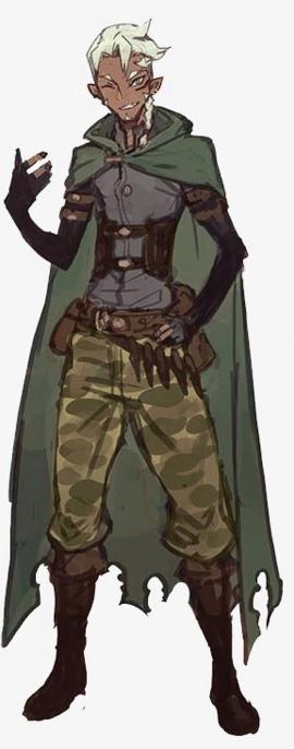 Half-Elf Thief LN