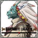Icono Sacerdote Lagarto