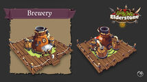 Building-brewery