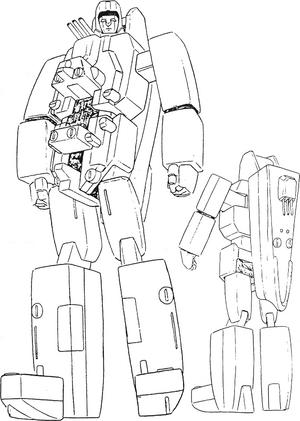 Battleship Robo