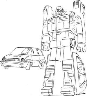 City Turbo II Robo