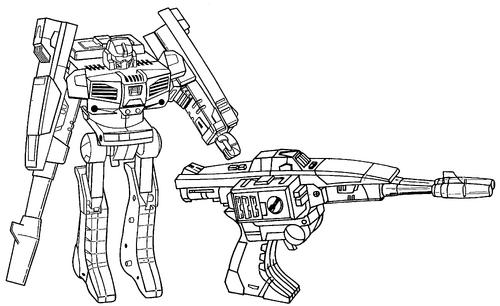 Convertible Laser Gun