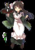 Ujimatsu chiya render by poppyoreos-d7zaxk3