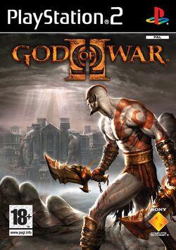 God of War 2 EU обложка
