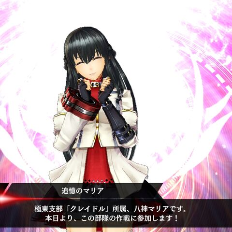 Maria in God Eater Resonant Ops