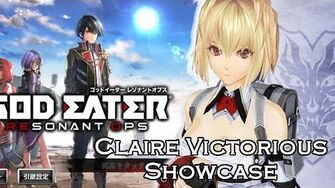 GEReO Claire Victorious Animation Showcase