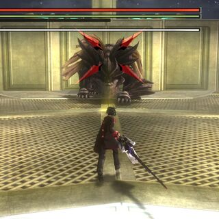 Heavenly Father as seen in God Eater Resurrection