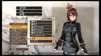 GOD EATER 2 RAGE BURST Female character creation