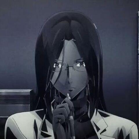 Aisha seen in the flashback of<i> God Eater</i> anime adaption