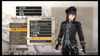 GOD EATER 2 RAGE BURST male character creation